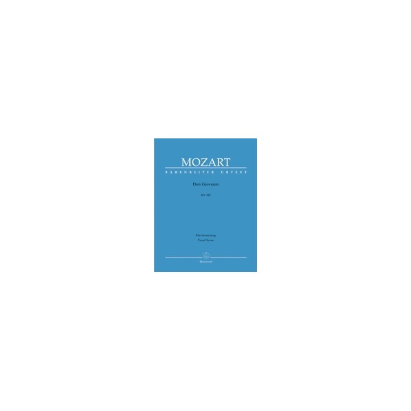 Mozart W.A. - Don Giovanni (complete opera) (It) (K.527) (Urtext).