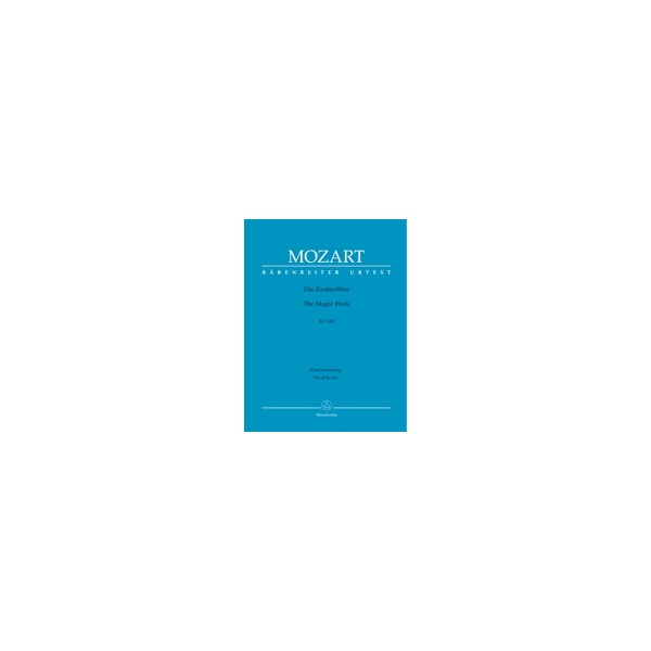 Mozart W.A. - Magic Flute (complete opera) (G) (K.620) (Urtext).