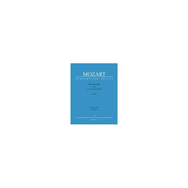 Mozart W.A. - Cosi fan tutte (complete opera) (It-G) (K.588) (Urtext).