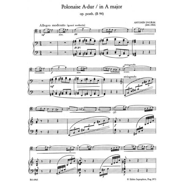 Dvorak A. - Polonaise in A, Op.posth.