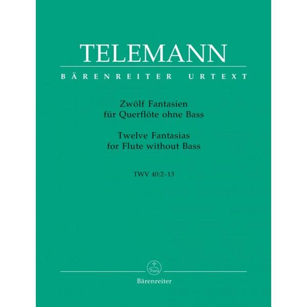 Telemann G.P. - Fantasias (12) (Urtext).