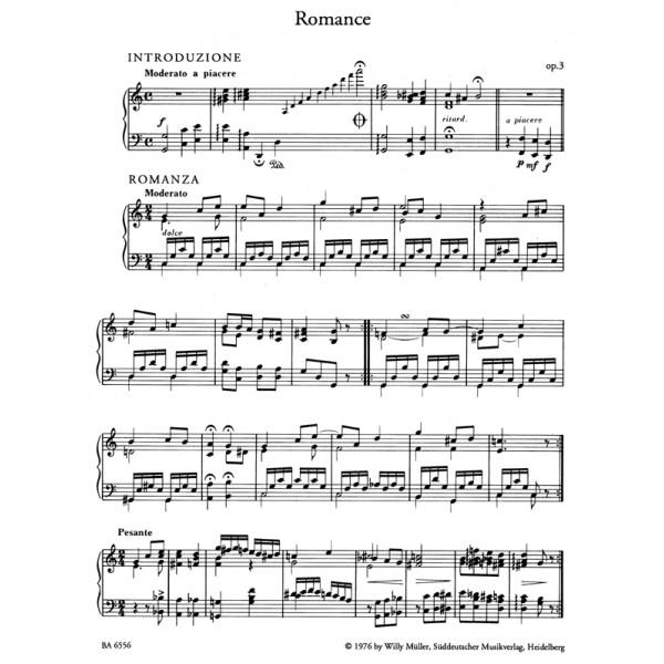 Schumann C. - Romantic Piano Music, Vol. 2. (Romances Op.3: Op.5/3: Op.11/1-3: