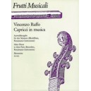 Ruffo V. - Capricci in musica. Selected Pieces in three Parts.