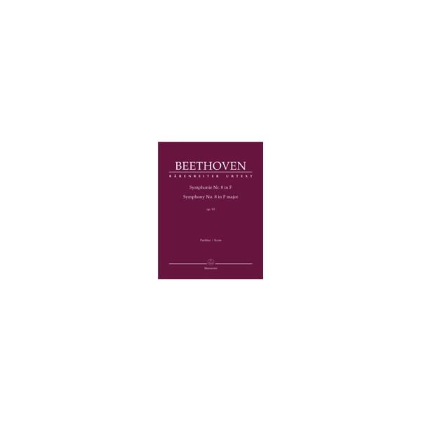 Beethoven L. van - Symphony No.8 in F, Op.93 (Urtext) (ed. Del Mar).