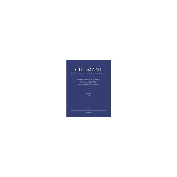 Guilmant F. - Selected Organ Works. Vol.2: Sonatas 5-8 (Urtext).