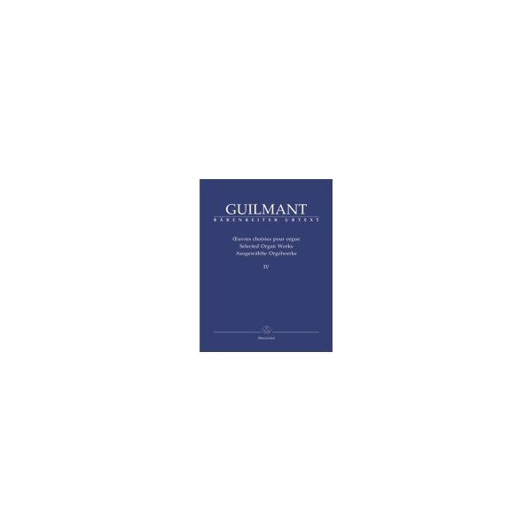 Guilmant F. - Selected Organ Works. Vol.4: Arrangements on German Protestant