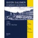 Haydn F.J. - Symphony No.104 in D (Hob I:104) arranged for Chamber Ensemble.