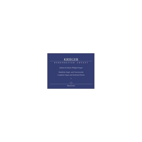 Krieger J.P. - Complete Organ and Keyboard Works, Vol.1 (Urtext).