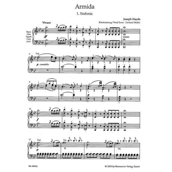 Haydn F.J. - Armida. Opera (Hob.XXVIII:12) (It-G) (Urtext).