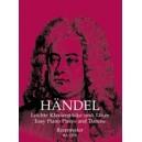 Handel G.F. - Easy Piano Pieces and Dances.
