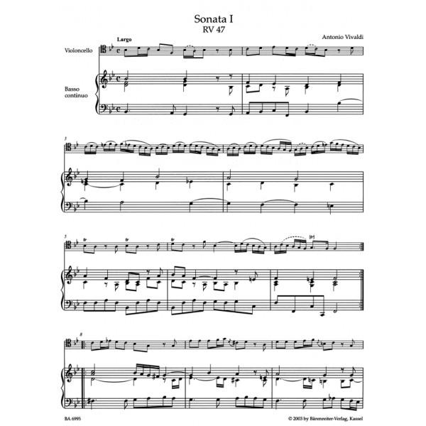 Vivaldi A. - Complete Sonatas for Violoncello and Basso continuo RV 39-47