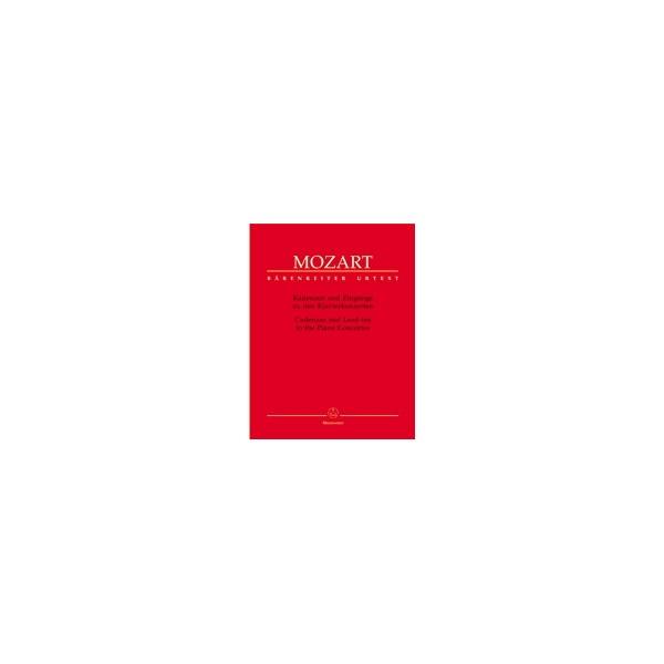 Mozart W.A. - Cadenzas and Lead-ins to the Piano Concertos (Urtext).
