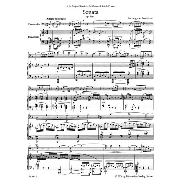 Beethoven L. van - Complete Sonatas for Violoncello and Piano.