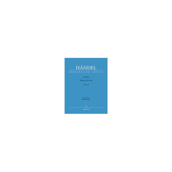 Handel G.F. - Lotario (HWV 26) (It-G) (Urtext).