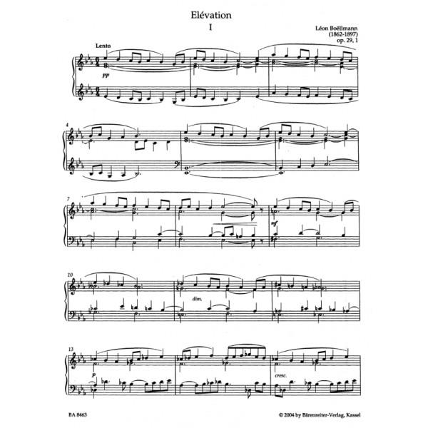 Boellmann L. - Organ Works, Vol.3/2 (complete) (Urtext). Heures mystiques Op.29/30