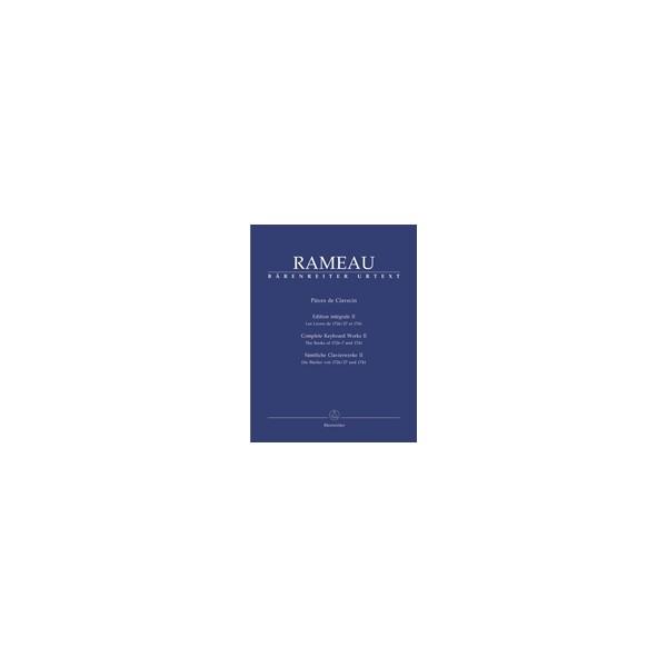 Rameau J. - Pieces de Clavecin. Complete Keyboard Works in 3 Volumes (Urtext).
