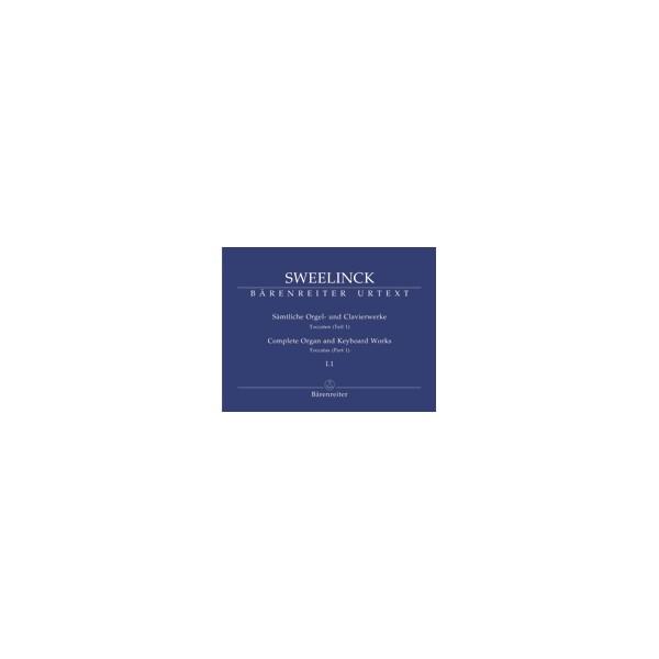 Sweelinck J.P. - Organ and Keyboard Works Complete, Vol.1/1 (New Edition) (Urtext)