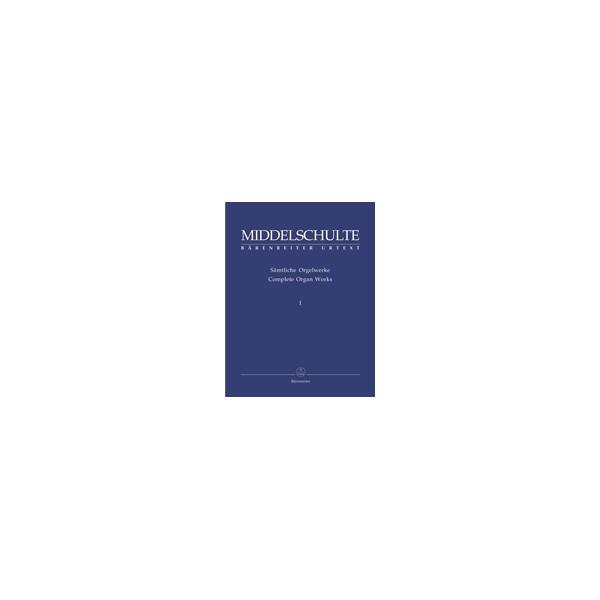Middelschulte W. - Organ Works, Vol.1 (complete) (Urtext) Passacaglia in D minor /