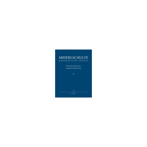 Middelschulte W. - Organ Works, Vol.2 (complete) (Urtext) Concerto / Canon Fantasie