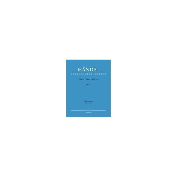 Handel G.F. - Giulio Cesare in Egitto (HWV 17) (It-G) (Urtext).