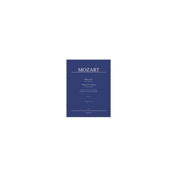 Mozart W.A. - Mass in C (K.317)(Coronation Mass) (Version for Choir & Organ)