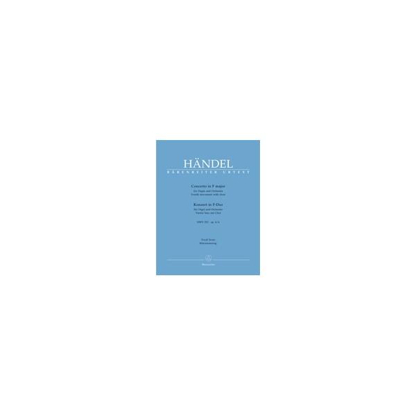 Handel G.F. - Concerto for Organ, Op.4/ 4 in F (4th Movement) (HWV 292) (Urtext).