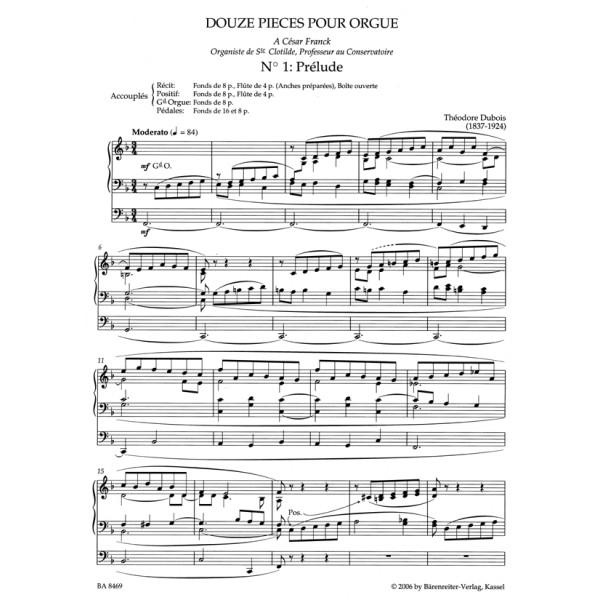 Dubois T. - Organ Works, Vol.2 (complete) (Urtext).  Organist at La Madeleine