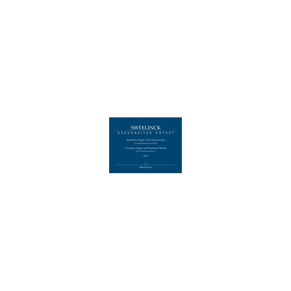 Sweelinck J.P. - Organ and Keyboard Works Complete, Vol.3/2 (New Edition) (Urtext)