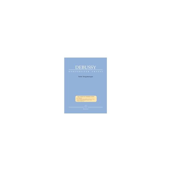 Debussy C. - Suite bergamasque (Urtext).