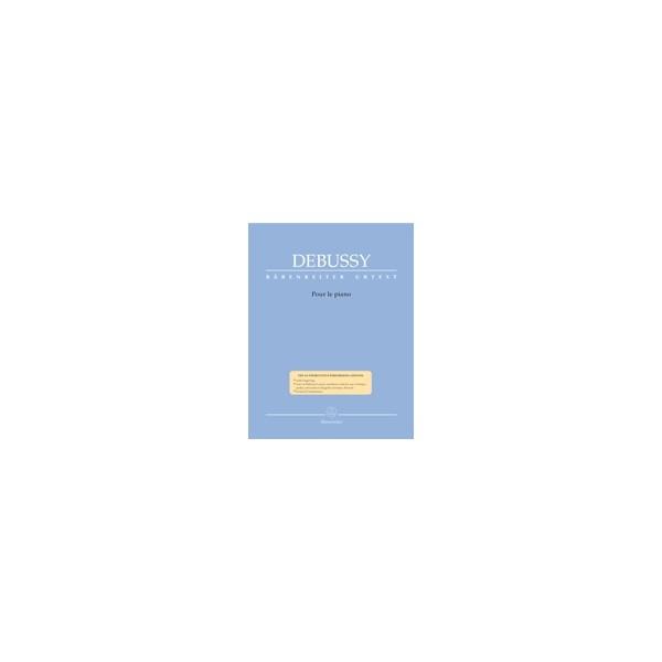 Debussy C. - Pour le piano (Urtext).
