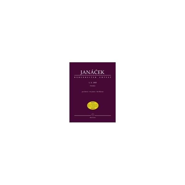 Janacek L. - 1. X. 1905 (Sonata) (Urtext).
