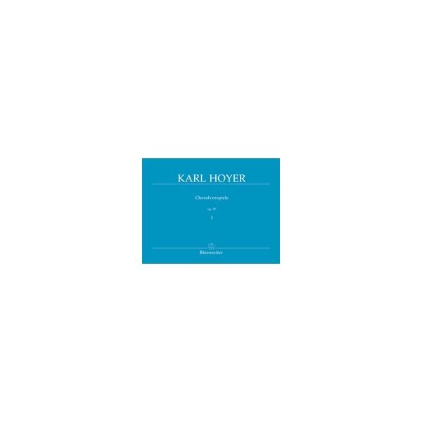Hoyer K. - Chorale Preludes, Op.57, Vol. 1.