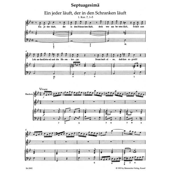 Telemann G.P. - Harmonische Gottesdienst, Der.  Lent and Easter.