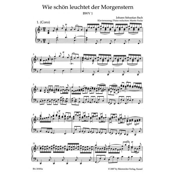 Bach J.S. - Cantata No.  1: Wie schoen leuchtet der Morgenstern (BWV 1)