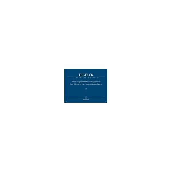 Distler H. - Organ Works Vol.2 (complete) (Urtext). Smaller organ chorale