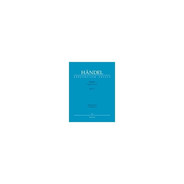 Handel G.F. - Oreste (HWV A/11) (It) (Urtext).