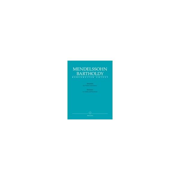 Mendelssohn-Bartholdy F. - Sonatas for Violin and Piano (Urtext).