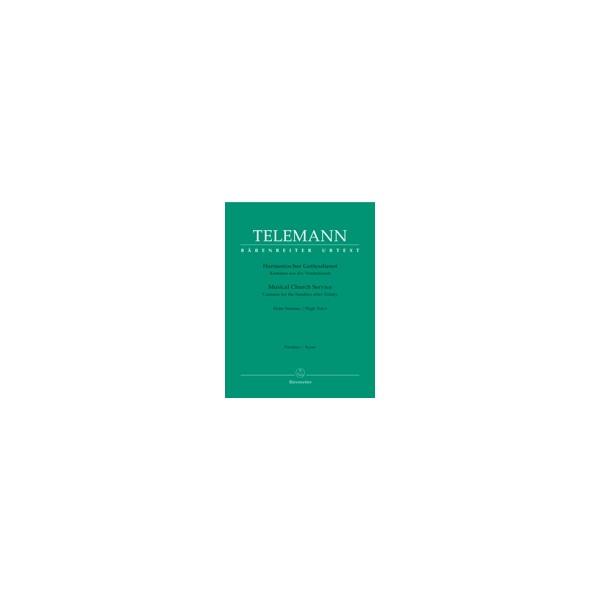 Telemann G.P. - Harmonische Gottesdienst, Der.  Pentecost.