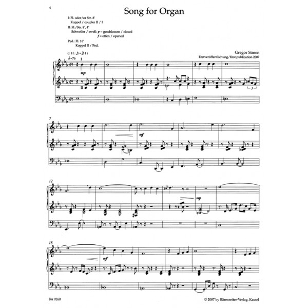 Various Composers - Jazz Inspirations for Organ 3.  Popular Music for Church Services