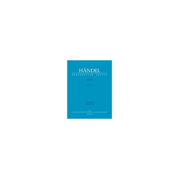 Handel G.F. - Athalia (HWV 52) (E-It) (Urtext).