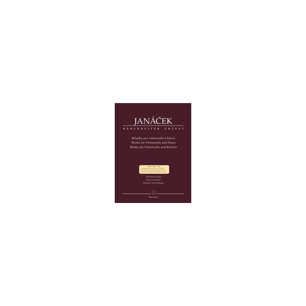 Janacek L. - Compositons for Violoncello and Piano (Urtext).