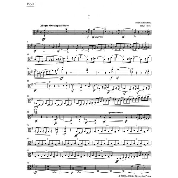 Smetana B. - String Quartet No.1 in E minor (From my Life) (Urtext).