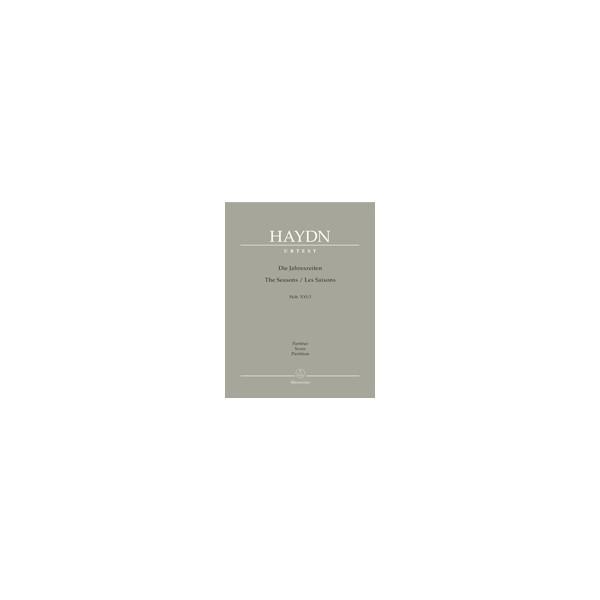 Haydn F.J. - Seasons, The. Oratorio (Hob.XXI:3) (G-E-Fr) (Urtext).
