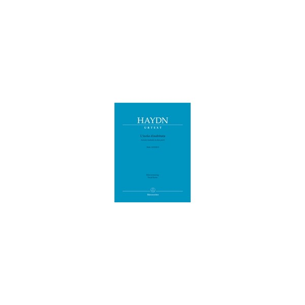 Haydn F.J. - Lisola disabitata (Hob.XXVIII:9) (It) (Urtext).