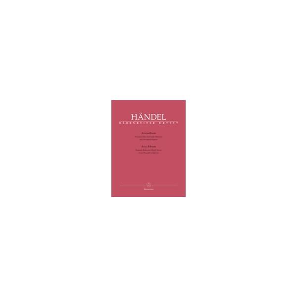 Handel G.F. - Aria Album.  Female Roles for High Voice from Handels Operas (It)