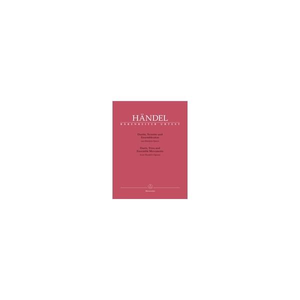 Handel G.F. - Duets, Trios and Ensemble Scenes from Handels Operas (It) (Urtext)