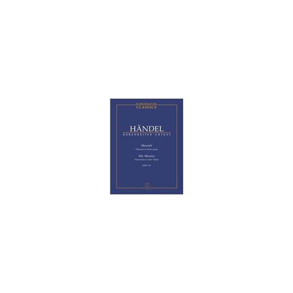 Handel G.F. - Messiah (HWV 56) (E-G) (Urtext).