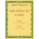 Lasso O. di - Bicinia for Singing and Playing (L).