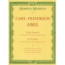 Abel K.F. - Sonatas (6), Vol. 1: Nos. 3 (E min), 4 (D maj), 6 (G maj).