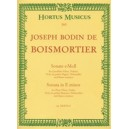Boismortier J.B. de - Sonata in E minor, Op.37/2.